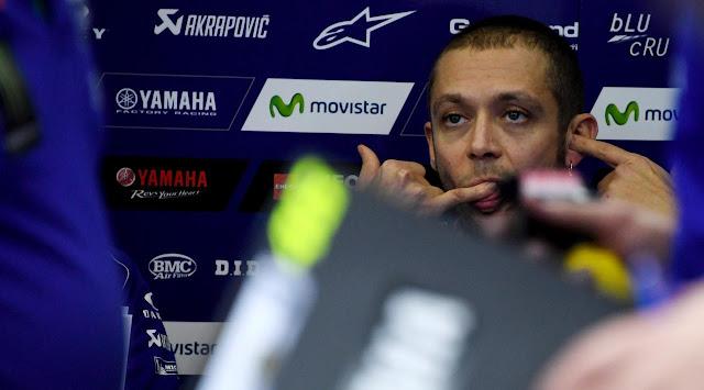 Terpuruk di Kualifikasi, Rossi Berharap Hujan