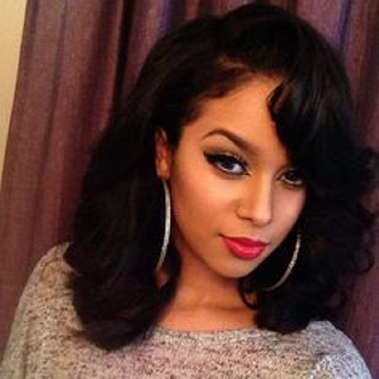 Amazing 8 Simple But Beautiful Weave Hairstyles For Black Women Hairstylo Hairstyle Inspiration Daily Dogsangcom