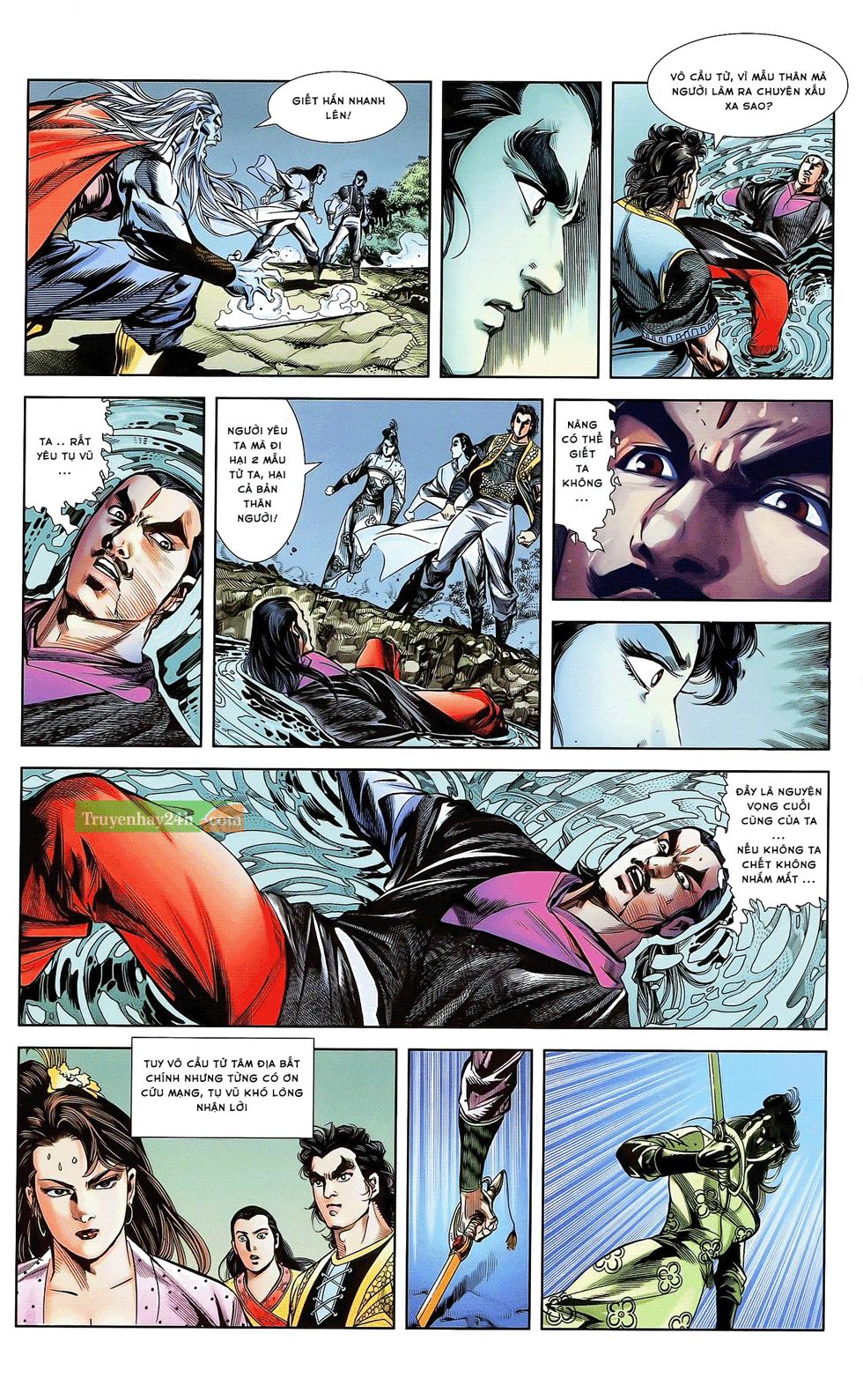 Tần Vương Doanh Chính chapter 21 trang 18