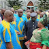 Check: Photos of Patience Jonathan in Okrika town, Rivers state today