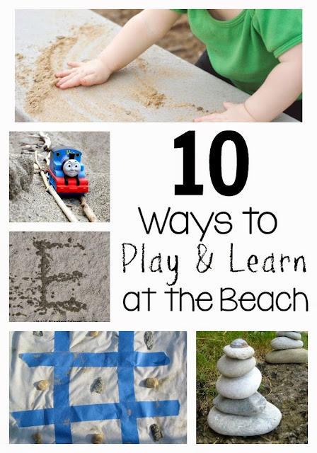 10 Ways for Kids to Play & Learn at the Beach