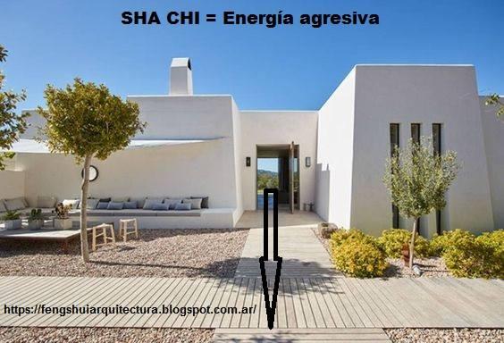Arquitectura y feng shui sha chi energ a agresiva - Arquitectura y feng shui ...