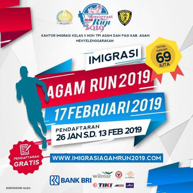 Imigrasi Agam Run • 2019