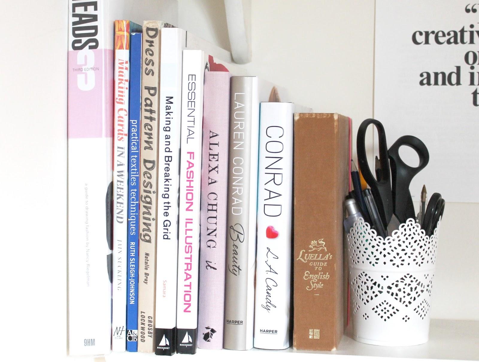 Fashion/Beauty Book Shelf Details