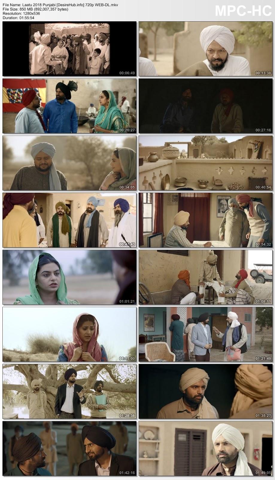Laatu 2018 Punjabi 480p WEB-DL 300MB Desirehub