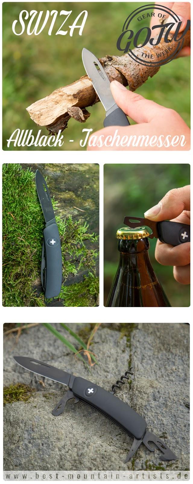 Gear of the Week #GOTW KW 34  SWIZA Allblack Schweizer Taschenmesser  Schweizer-Messer