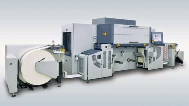 Tau 330 Digital Label Press now accommodates Jumbo Rolls to achieve