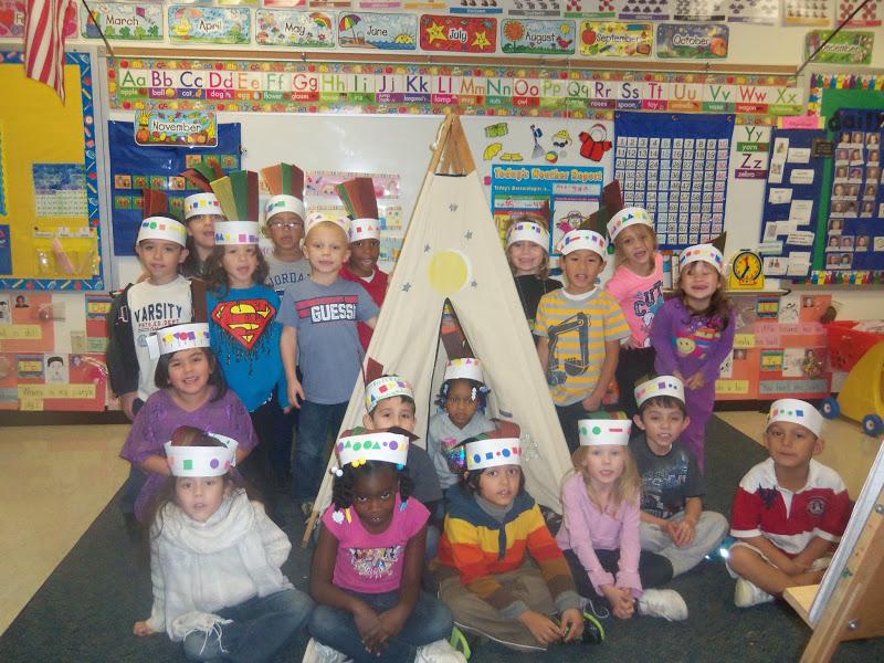 Kinder Garden: Mrs. Wood's Kindergarten Class: Native Americans