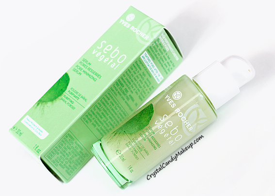 Yves Rocher Sebo Vegetal Pore Minimizing Serum Review Photos