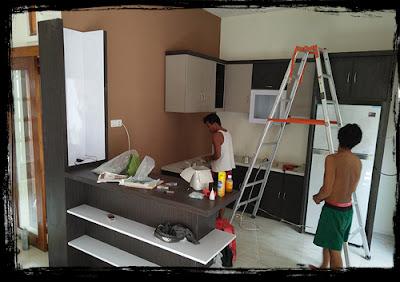 Kitchen set di kediri, jasa pembuatan kitchen set di kediri, desain kitchen set