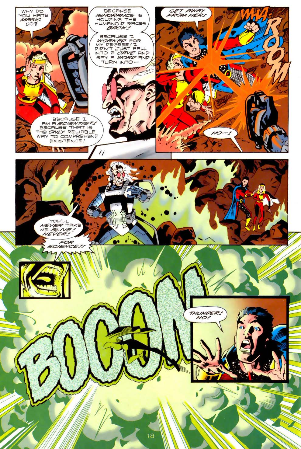 Legion of Super-Heroes (1989) 110 Page 18