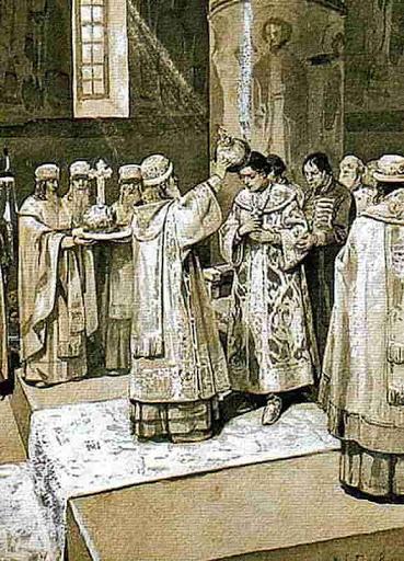 Иван Грозный.Венчание на царство
