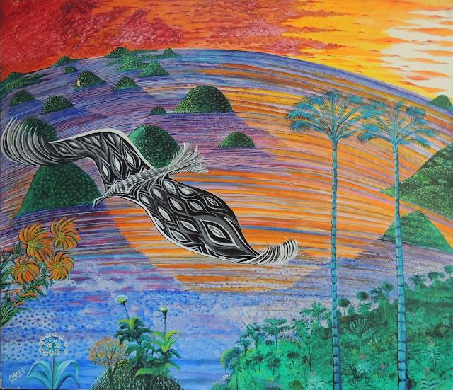 Manuel Carmona pintura naíf antillas