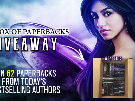 Win a library! Enter to win 62 paperbacks!
