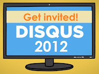 Disqus 2012 get invited