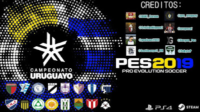 PES 2019 PS4 Option File Campeonato Uruguayo Season 2019