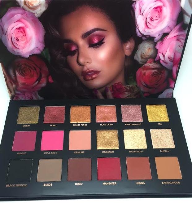 Huda Beauty Rose Gold Palette Pixiwoo Com