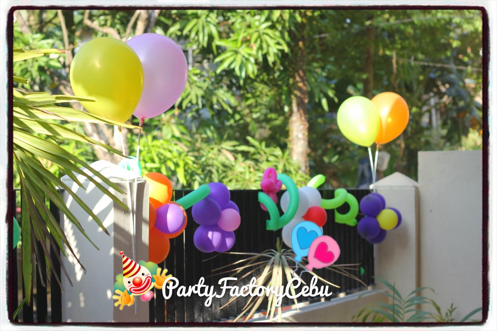 Welcome To Partyfactory Cebu Angel S 7th Birthday Bash