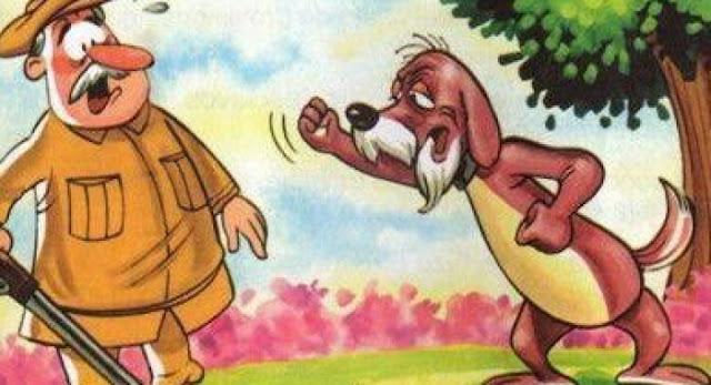 El viejo perro cazador