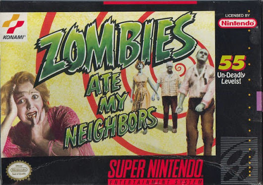 Quester vs Zombies Ate My Neighbors