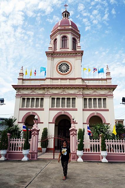 Gereja Saint Cruz, Chao Phraya, Bangkok, Thailand