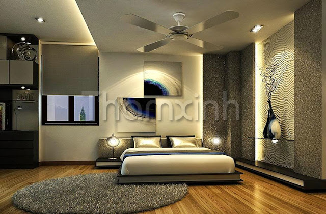 Thảm trải phòng ngủ ấn tượng