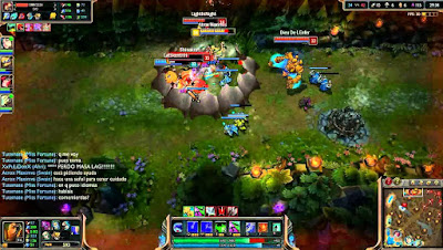 League of Legends, en juego