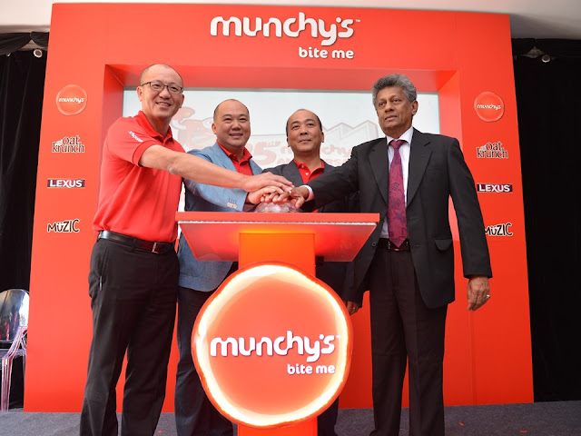 MUNCHY'S Celebrates 25 years of Fun - Share the Fun
