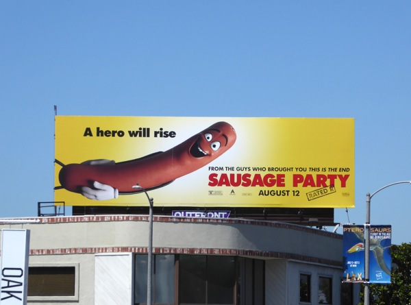 Sausage Party One hero will rise billboard