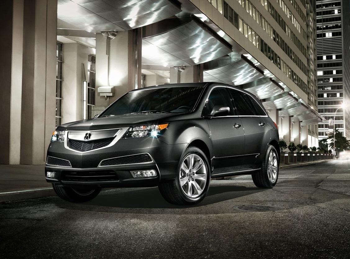 Suv With Third Row >> Designautos: 2012 Acura MDX