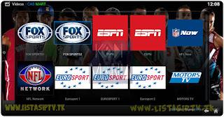 Add-On - CASMART - KODI - Canais de Esporte, Filmes, Notícias Ao Vivo do Brasil e Portugal