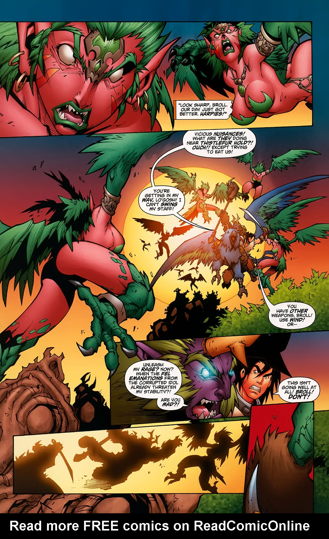 Read online World of Warcraft comic -  Issue #5 - 2