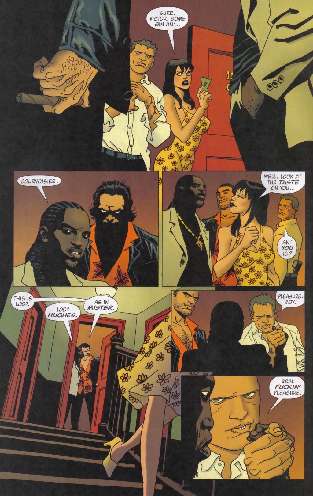 Read online 100 Bullets comic -  Issue #59 - 8