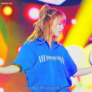 Foto Baru Wendy Red Velvet dipanggung