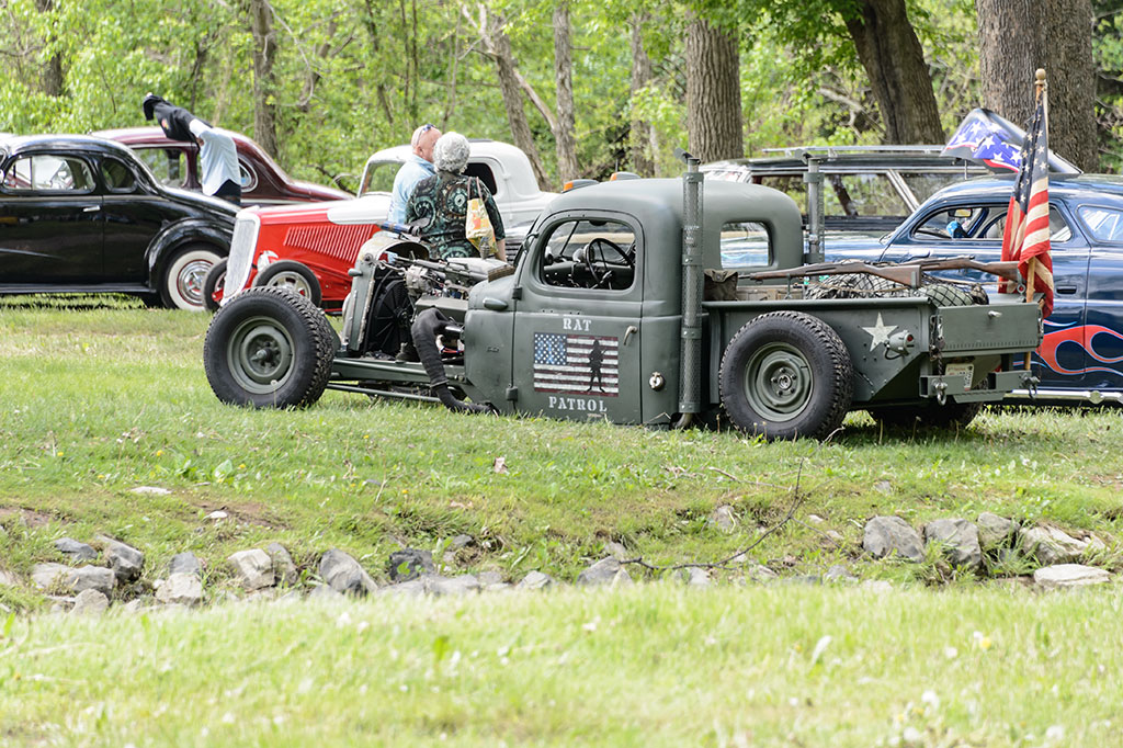 Rat Rod at the Jalopy Showdown