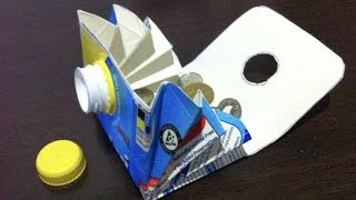 Awesome ideas / DIY Tetra Pack Wallet