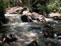 rio, pedra