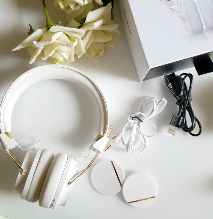 Review & Zubehör: Sudio Sweden - Regent White On-Ear Bluetooth Headphones