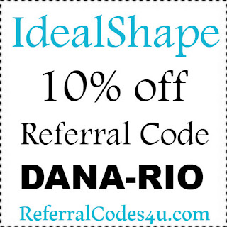 Save 10% on your purchase at IdealShape with referral code DANA-RIO