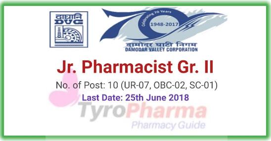 Pharmacist Recruitment Damodar Valley Corporation