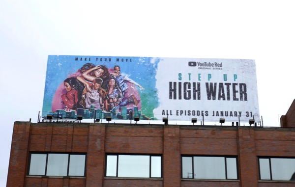 Step Up High Water YouTube Red billboard