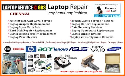 Laptop Spare Parts Chennai