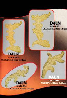 ornamen alferon, aksesoris pagar klasik, alumunium cor