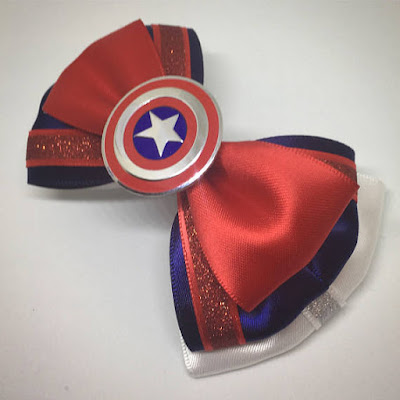 Captain America Themed Bowtie