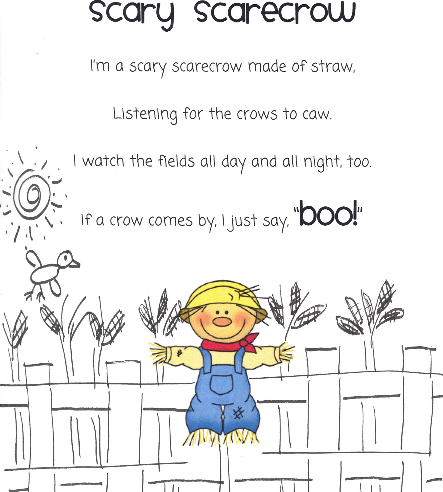 The Very Busy Kindergarten: October Poems for Poetry Box