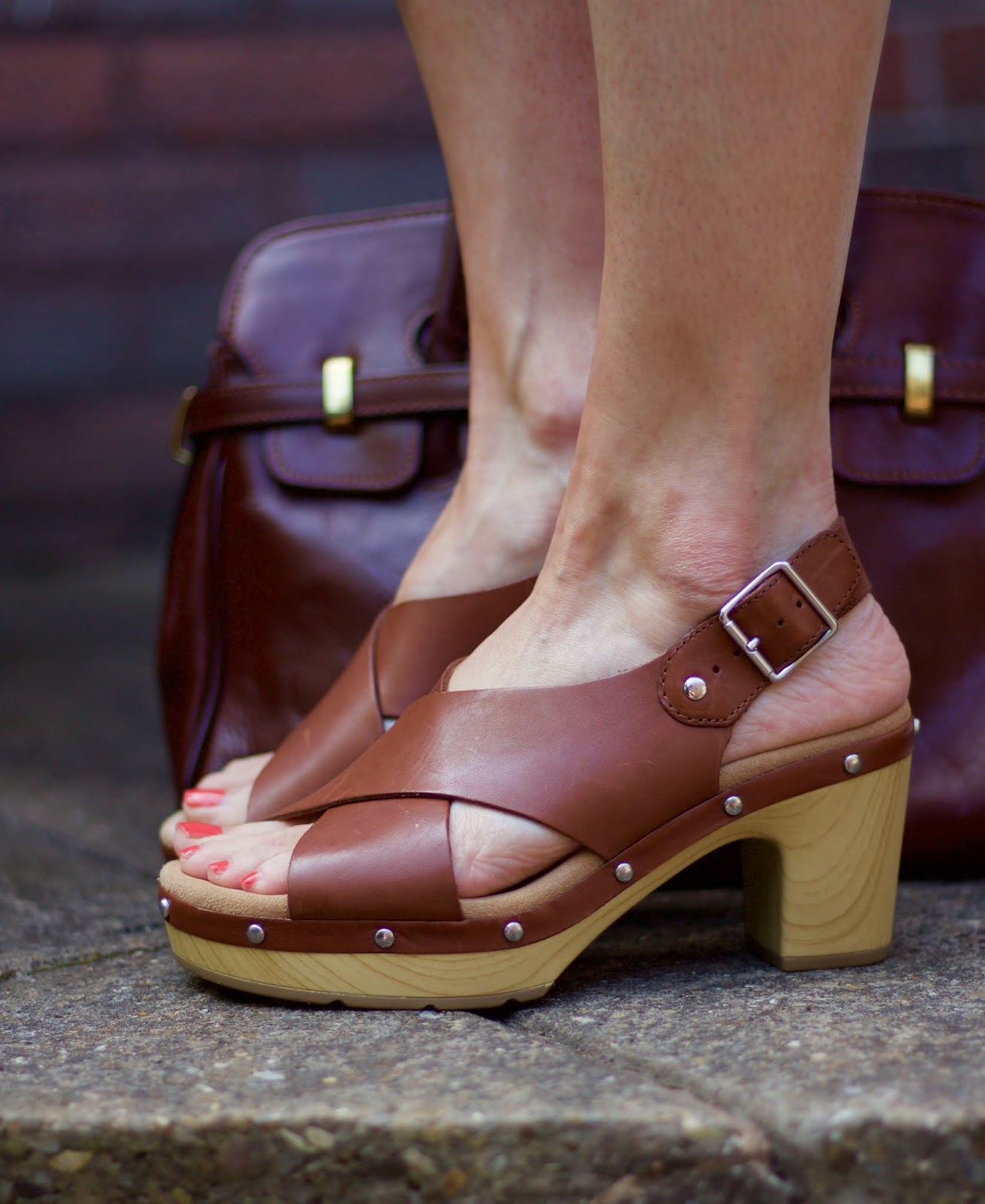 Clarks Clog Sandals | Fake Fabulous