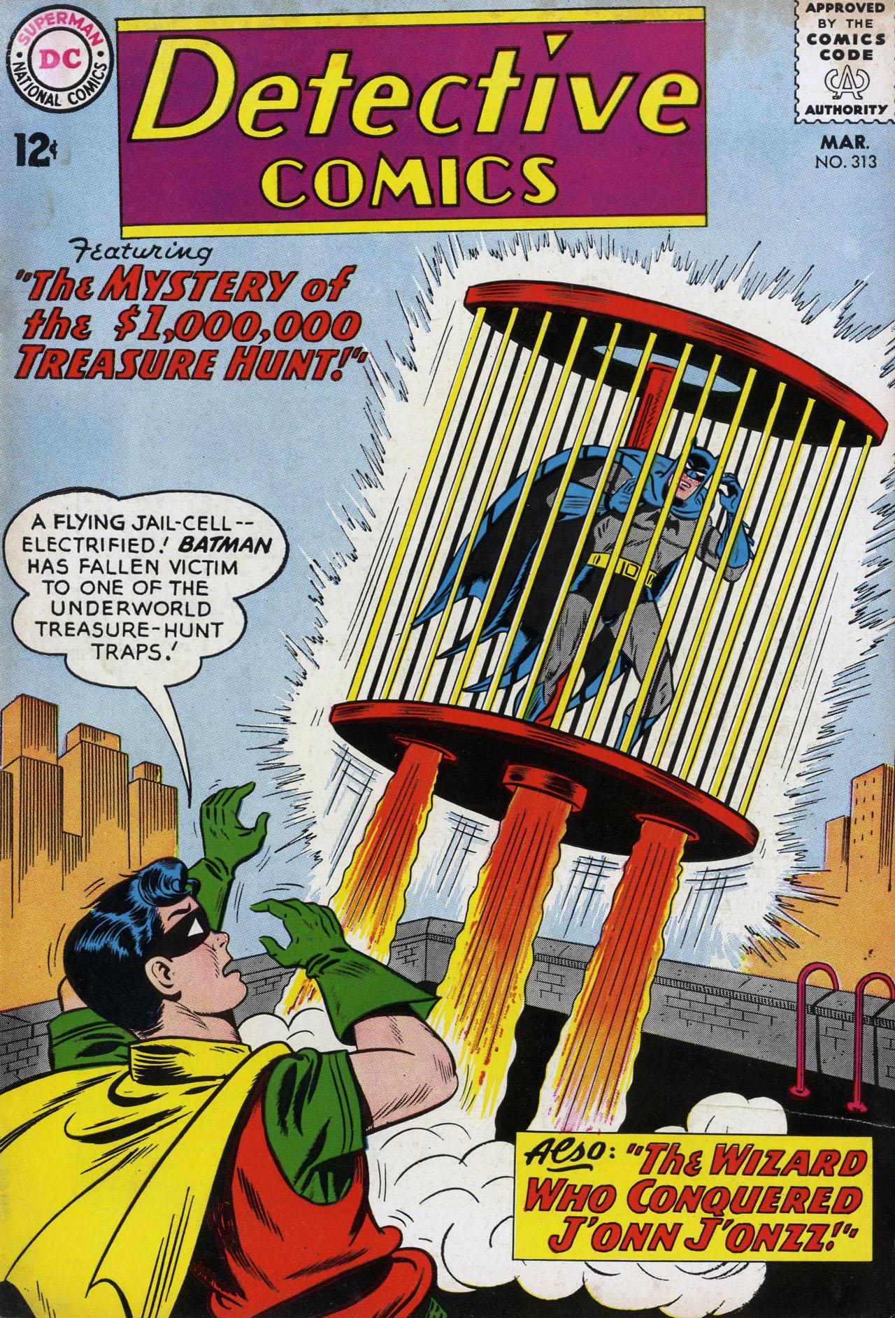Detective Comics (1937) 313 Page 0