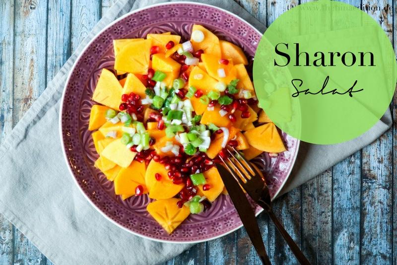 Rezept - Sharon-Salat
