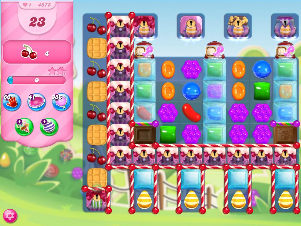 Candy Crush Saga level 4875
