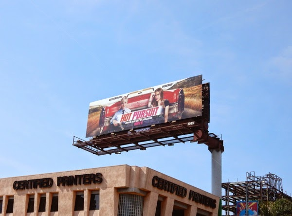Hot Pursuit film billboard